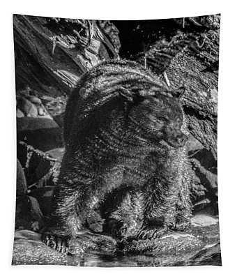 Black Bear Creekside Tapestry