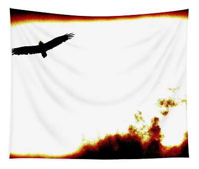 Blackbird Is Watching Tapestry