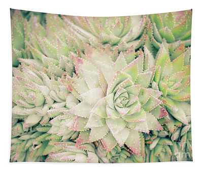 Blanket Of Succulents Tapestry