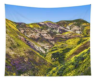 Blanketed In Flowers Tapestry
