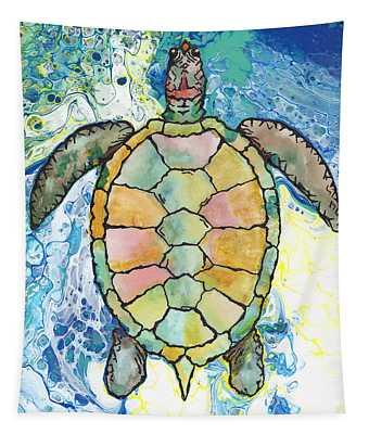 Blazing Away Tapestry
