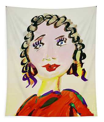Blonde Whimsey  Tapestry