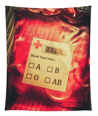 Blood Donation Bag Tapestry