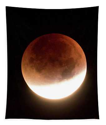 Blood Moon Eclipse Tapestry