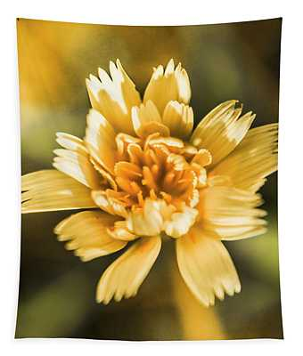 Blossoming Dandelion Flower Tapestry