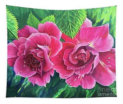 Blossom Buddies Tapestry