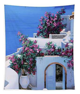 Blu Di Grecia Tapestry
