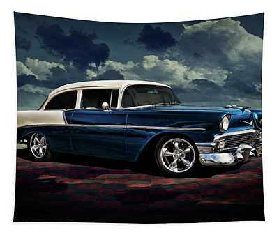 Blue '56 Tapestry