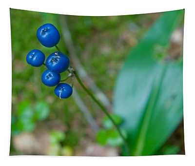Blue Berries Tapestry