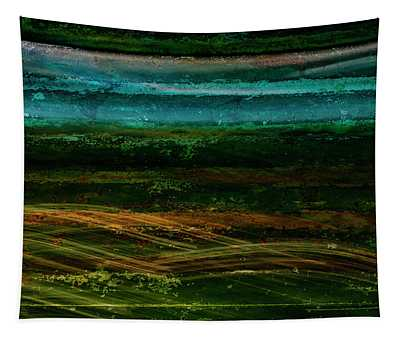 Blue Canoe Tapestry
