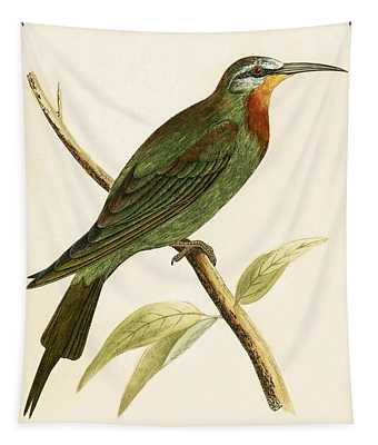 Blue Cheeked Bee Eater  Tapestry