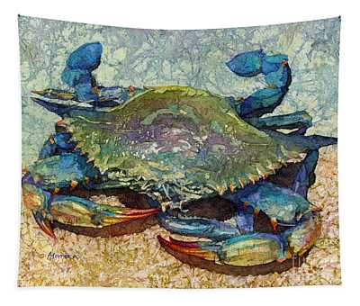 Blue Crab Tapestry
