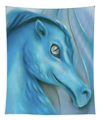 Blue Dragon Tapestry