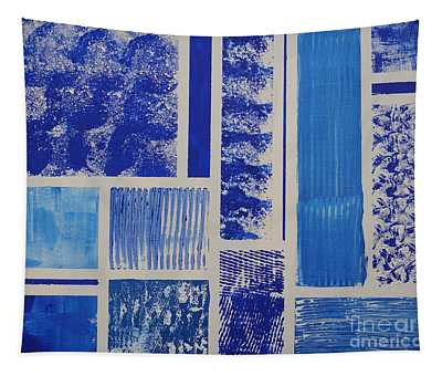 Blue Expo Tapestry