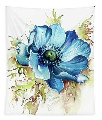 Blue Gem Tapestry