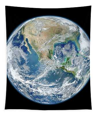 Blue Marble, 2012 Tapestry