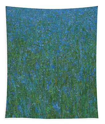 Blue Meadow 1 Tapestry