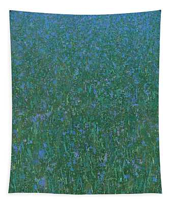 Blue Meadow 2 Tapestry