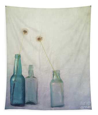 Blue Memories Tapestry