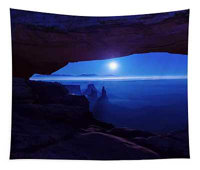 Blue Mesa Arch Tapestry