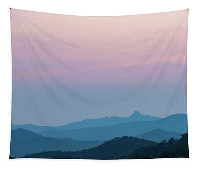 Blue Ridge Mountains After Sunset Tapestry