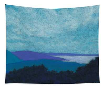 Blue Ridges 3 Tapestry