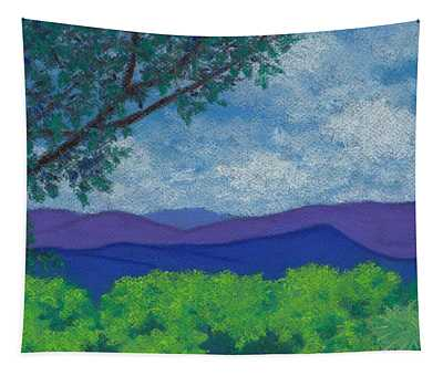 Blue Ridges 4 Tapestry