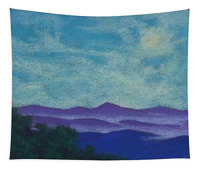 Blue Ridges Mist 1 Tapestry