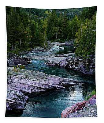 Blue River Tapestry
