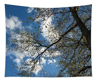 Blue Skies Tapestry