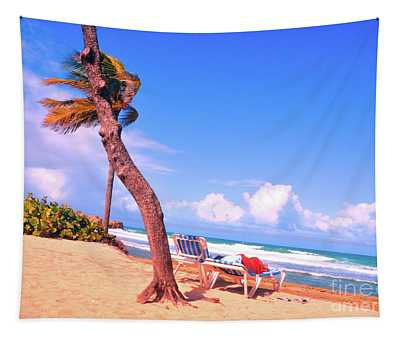 Blue Skies In The Caribbean Tapestry