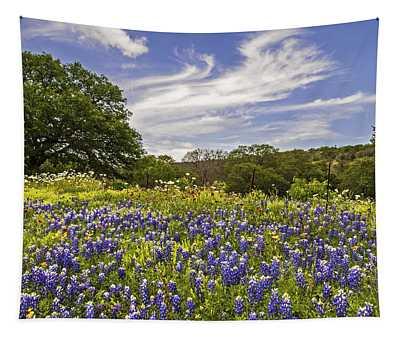 Bluebonnet Spring Tapestry