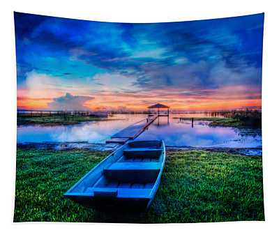Blues Before Dawn Tapestry
