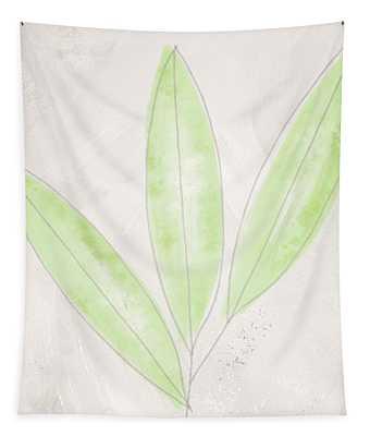 Blush Bamboo- Art By Linda Woods Tapestry