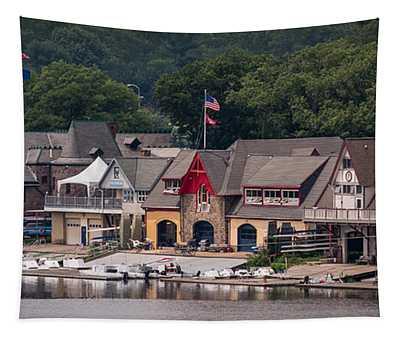 Boathouse Row Philadelphia Pa  Tapestry
