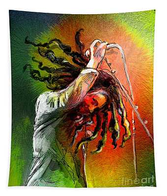 Bob Marley 07 Tapestry