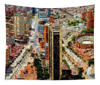 Bogota Colombia Tapestry