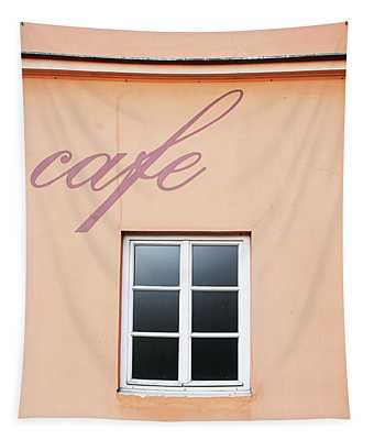 Bohemian Cafe- By Linda Woods Tapestry