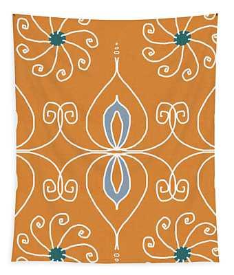 Boho Ornamental 1- Art By Linda Woods Tapestry