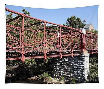 Bollman Truss Bridge At Savage In Maryland Tapestry