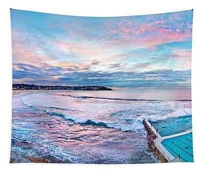 Bondi Beach Icebergs Tapestry