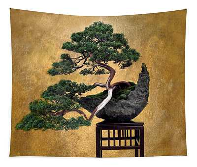 Tapestry featuring the photograph Bonsai 3 by Jessica Jenney