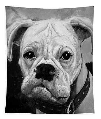 Boo The Boxer Tapestry