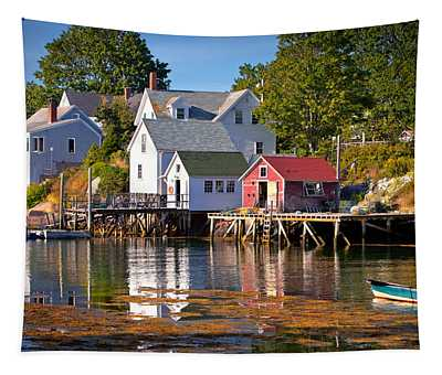 Boothbay  Maine Tapestry