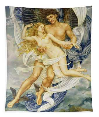 Boreas And Oreithyia Tapestry