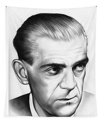 Boris Karloff Tapestry