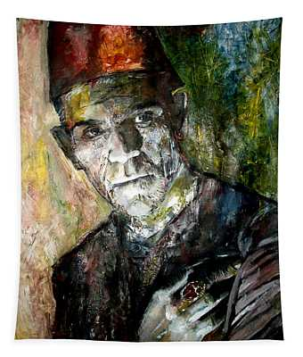 Boris Karloff - Imhotep - The Mummy Tapestry