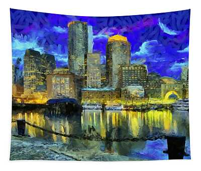 Boston 1 Tapestry