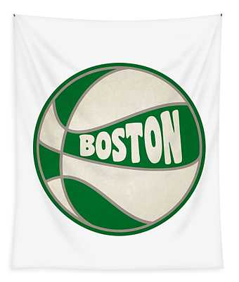 Boston Celtics Retro Shirt Tapestry