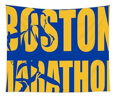 Boston Marathon Tapestry